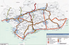 Perspectives of territorial development linked to the future high-performance rail lines in Eastern Andalusia