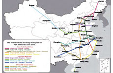 The configurations of Chinese national urban systems in both high-speed railway and airline networks