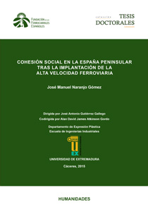 Social cohesion in the peninsular Spain after the implementation of the high-speed railway